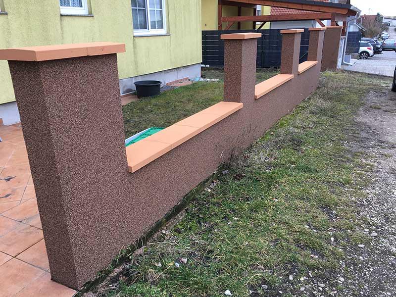 Gartenmauer-EFH-Gaenserndor